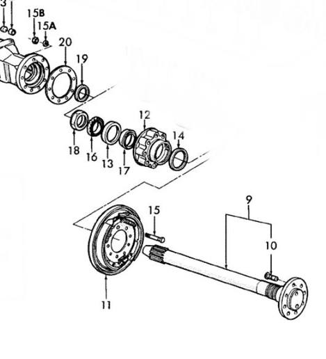 ford jubilee 12 volt wiring diagram