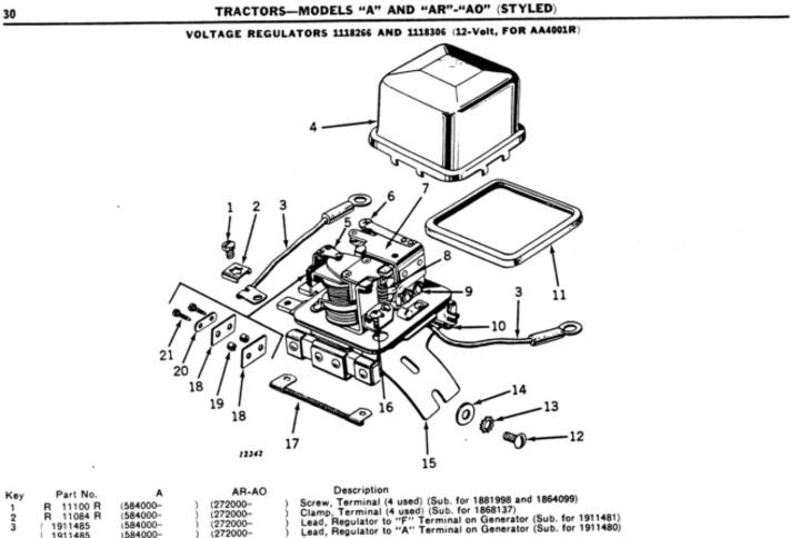 1951 john deere b wiring diagram