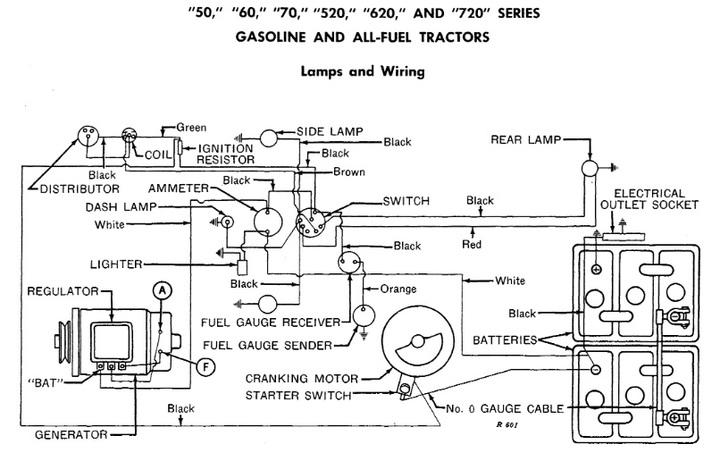 John Deere 60 Tractor Wiring Diagram Also John Deere 4020 Wiring
