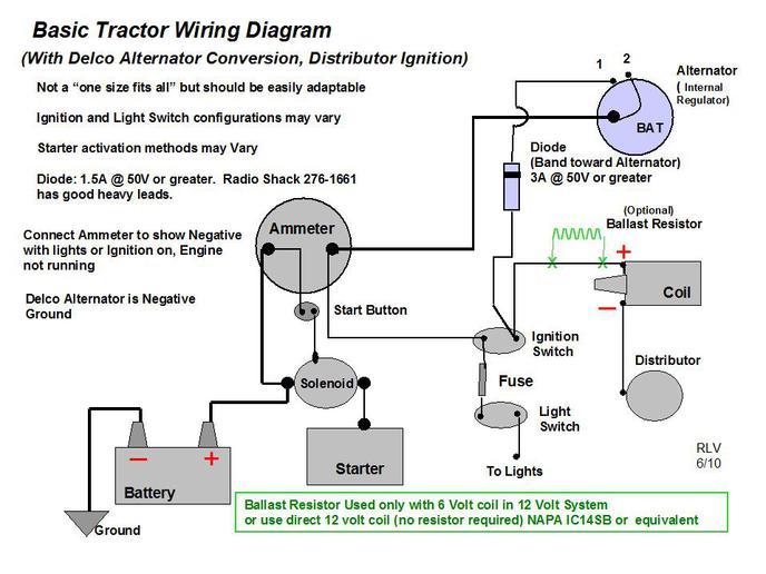 Allis Chalmers Wiring Schematic Wiring Diagram