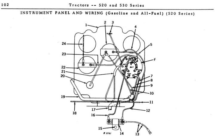 john deere 520 wiring diagram