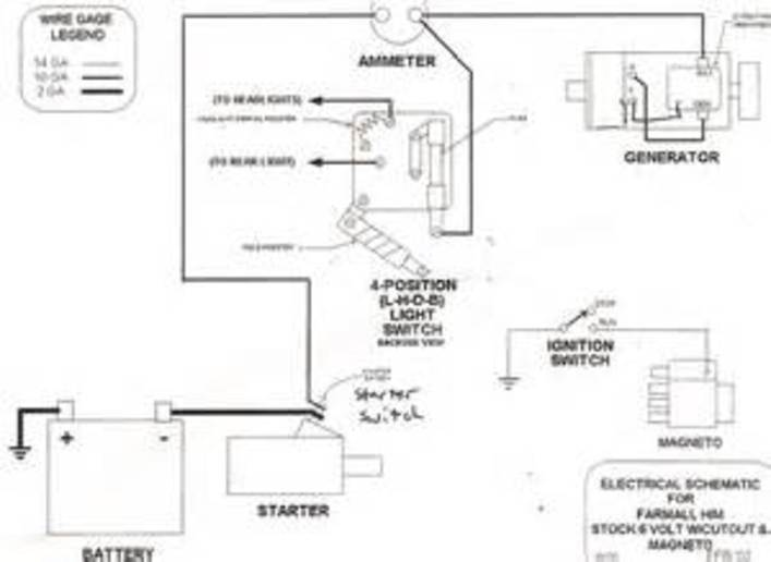 C Farmall Wiring Diagram Wiring Diagram