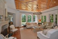 Traditional Living Room with High ceiling by The Corcoran ...
