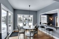 Dining Room with High ceiling & Hardwood floors in EDEN ...