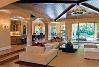 Modern Living Room with Hardwood floors & Columns | Zillow ...