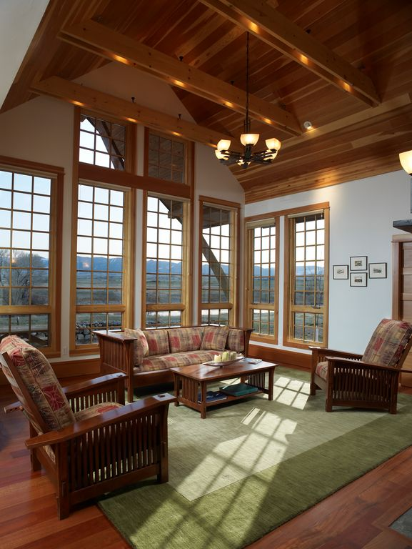 Craftsman Living Room Design Ideas \ Pictures Zillow Digs Zillow - craftsman living room