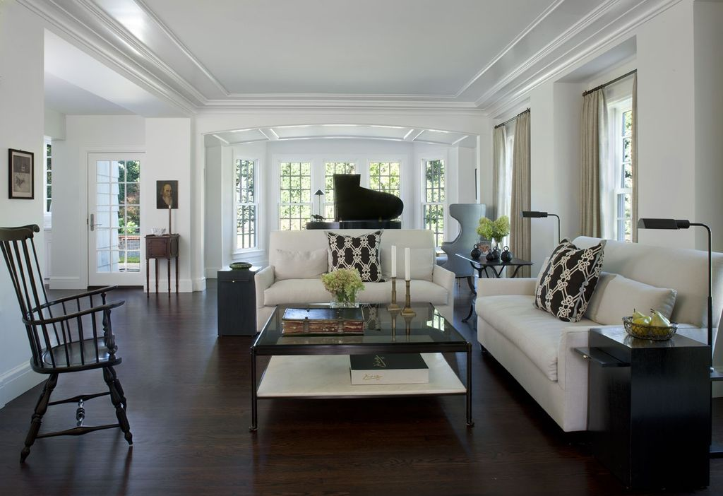 Traditional Living Room by CBI Design Professionals Zillow Digs - crate and barrel living room
