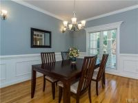 Traditional Dining Room with Crown molding & Chair rail in ...