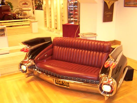 Car Möbel Funny And Stupid Ideas: Classic Car Seat Sofa