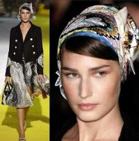 I am Fashion: SS06 Accessories Trend: Scarves As Headbands