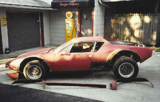 Detomaso pantera complete restoration ferrari for American restoration cars for sale