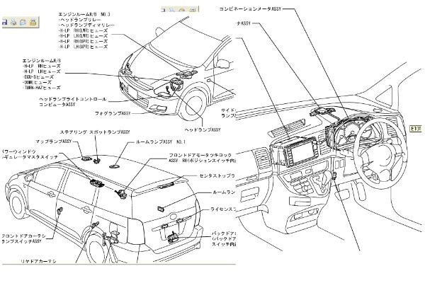 toyota wish fuse box diagram