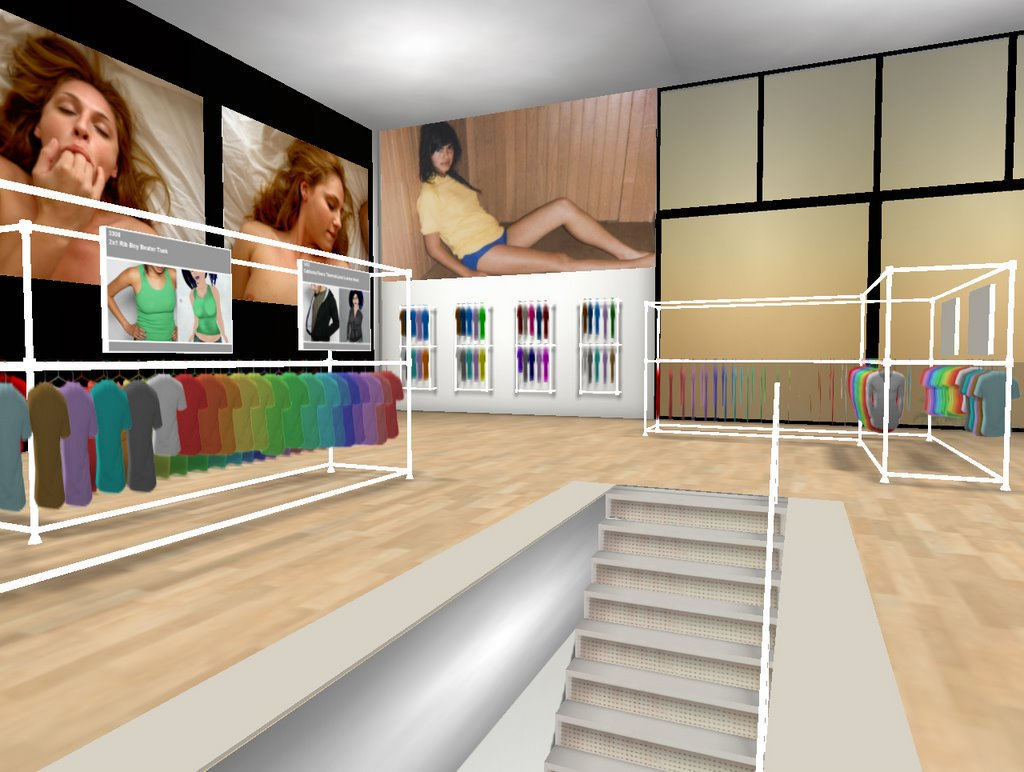Second Life Store American Apparel Opens Store In Second Life Futurelab