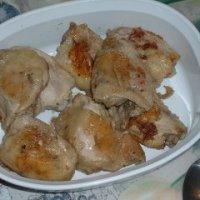 Akoho misy Sakamalao (Chicken with Garlic and Ginger) & Verenga (Roasted Shredded Beef)