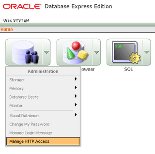ora2.0 Oracle XE for network access