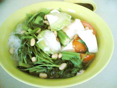 bowl of yong tau foo