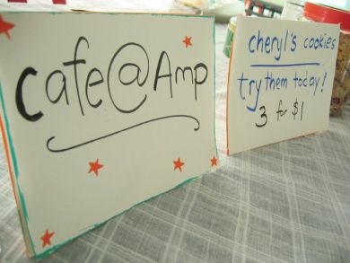 Cafe at Amplify