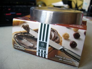 Neuhaus choc spread with nuts