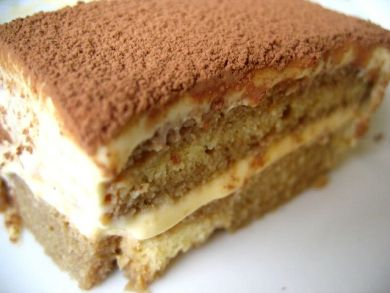 Second attempt at Tiramisu