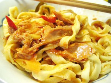 Tom Yam Tuna Pasta