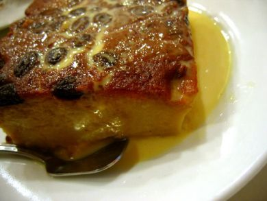 Delicious Bread & Butter Pudding