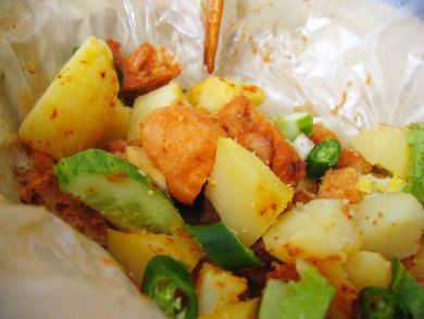 Closeup – Indian Rojak