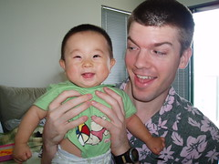 Me and a Chinese baby