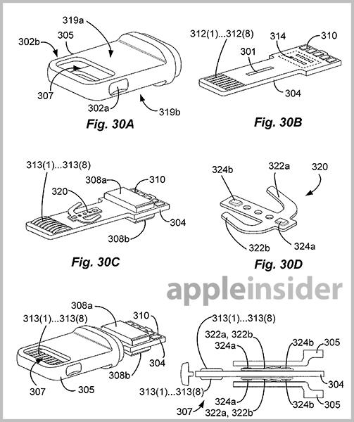 Apple\u0027s Lightning connector detailed in extensive new patent filings