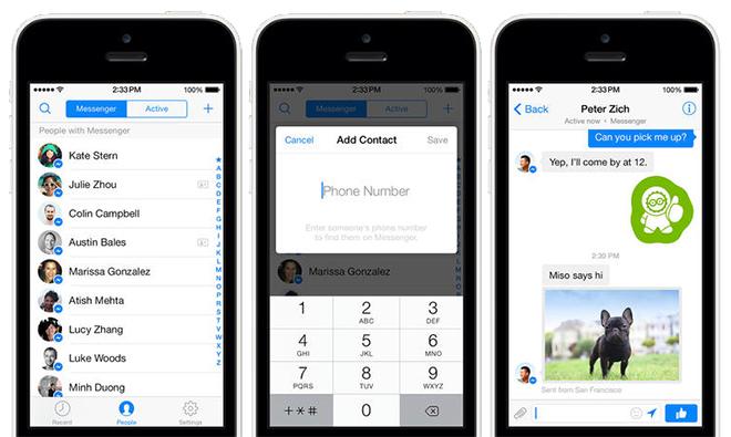 Facebook Messenger adds phone number integration, gets visual overhaul
