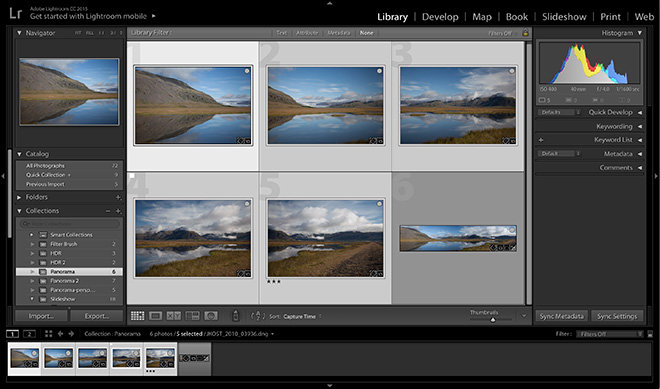 Lightroom Cc First Look: Adobe Lightroom Cc With Hdr And Panoramic
