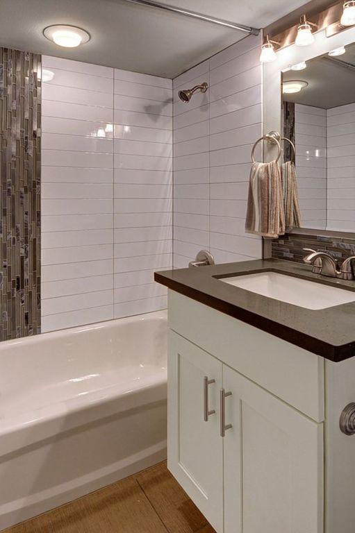 white tile bathroom walls - Google Search Bathroom Pinterest