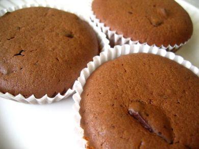 dark choc coffee cupcakes