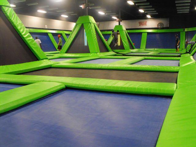 Half jewish all funny indoor trampoline park