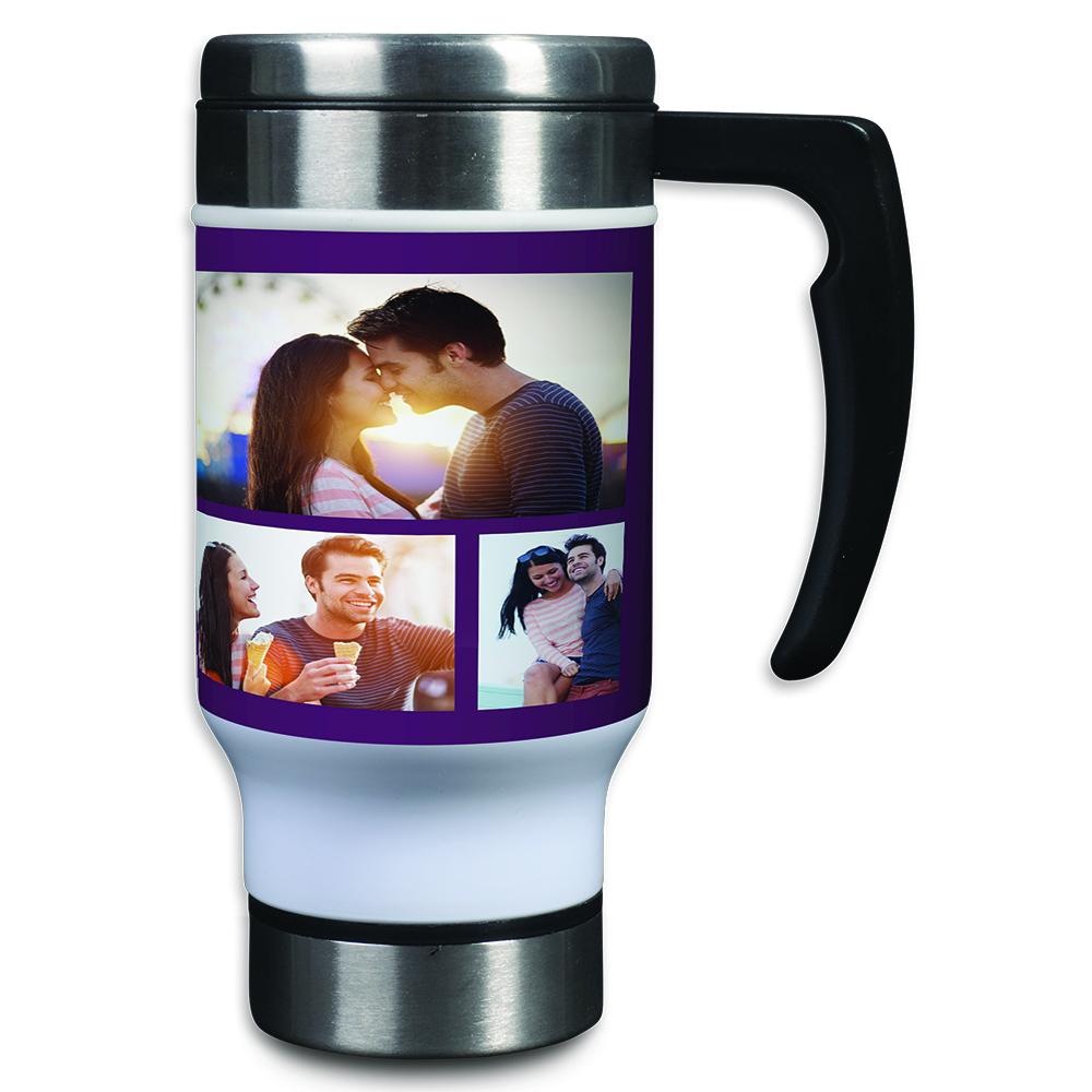 Personalized Photo Collage Travel Mugs Best Mugs Design