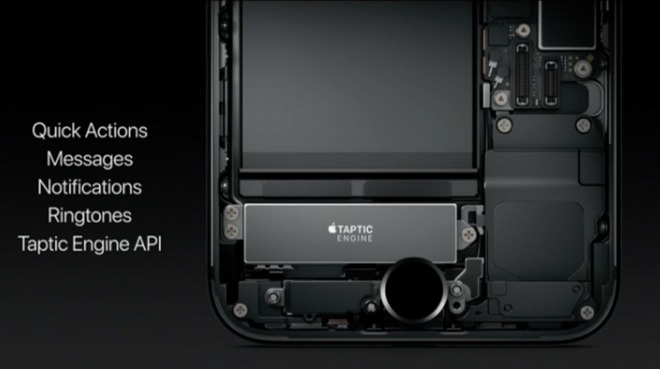 Iphone X Teardown Wallpaper Inside The Iphone 7 Apple S Taptic Engine Explained