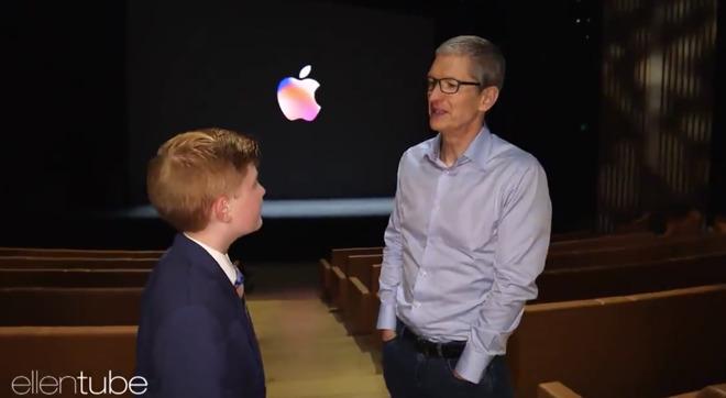 Ellen DeGeneres sent a 12-year-old app developer to meet Tim Cook at - tim cook resume