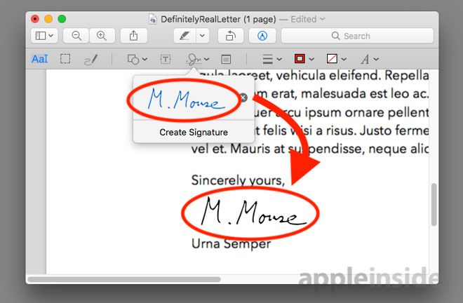 How to add your signature to digital forms and documents in macOS