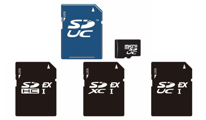 New SD card format will transfer at nearly a gigabyte per second