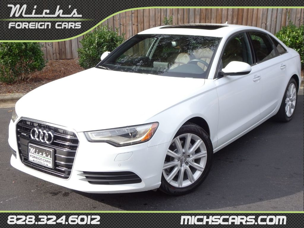 Audi A6 Quattro 2013 Used Audi A6 4dr Sedan Quattro 2 0t Premium Plus At Michs Foreign Cars Serving Hickory Nc Iid 18464551