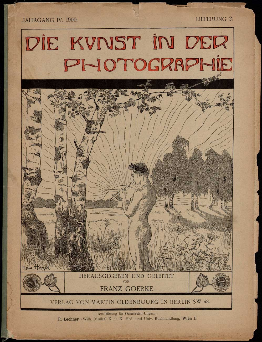 Die Kunst Journal Cover Die Kunst In Der Photographie 1897 1903 Photoseed