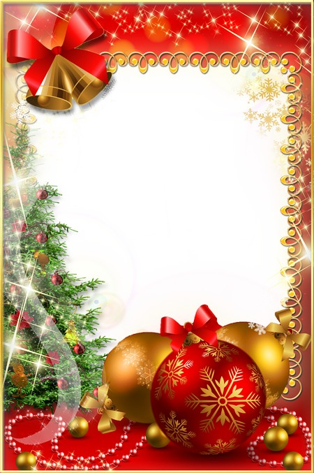 Christmas Photoframe - Long-awaited Holiday ( free Christmas photo