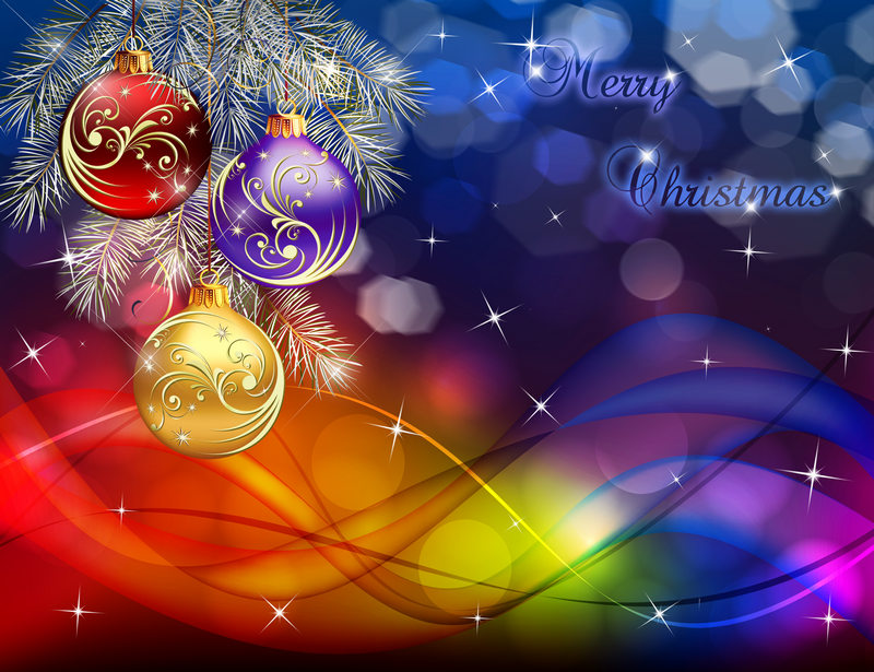 Christmas Background PSD - Merry Christmas PSD background for