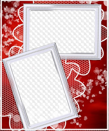 Red photo frame PSD, PNG Transparent PNG Frame, PSD Layered Photo