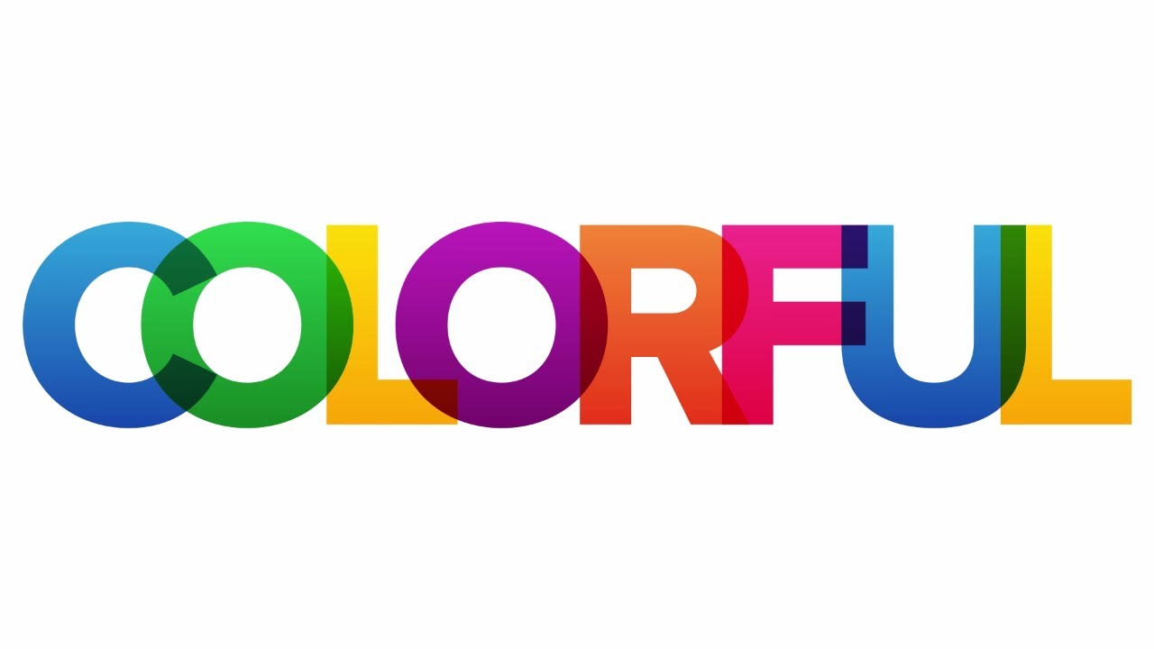 Adobe Convert Image To Text Colorful Overlapping Letters Text Effect In Photoshop