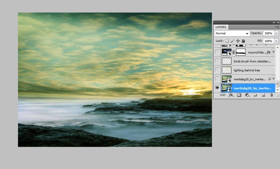 step-1-open-background-image photoshop images
