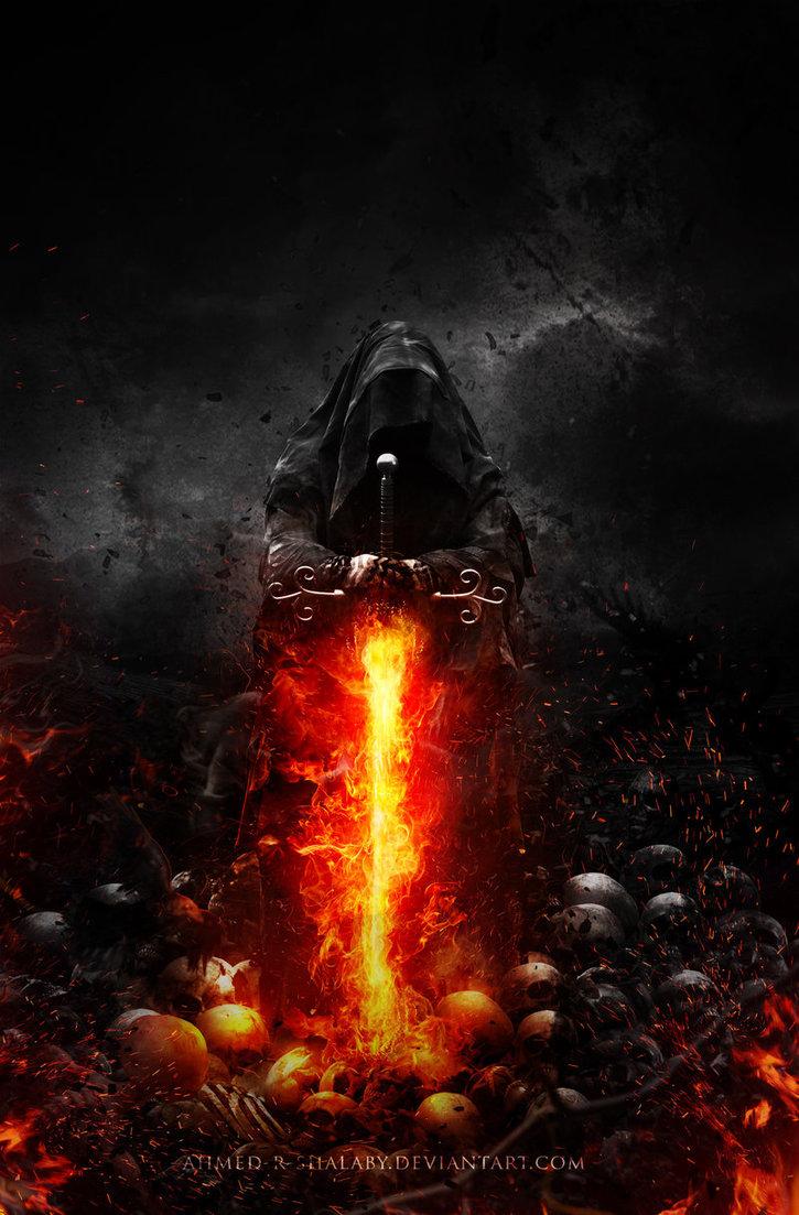 anger dark death darkness broken