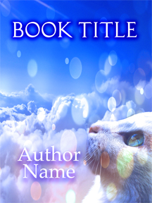 cat clouds sky pre made book covers