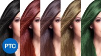 How To Change Hair Color In Photoshop - Including Black ...