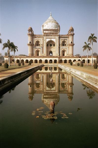 Taj Mahal with Reflecting Pool