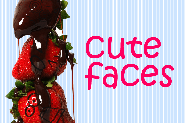 Cute Faces Photoshop Brushes